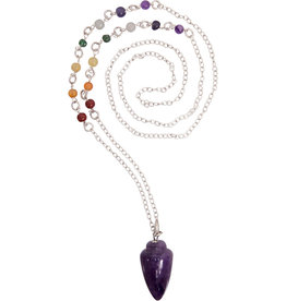 Pendulum - Amethyst Necklace