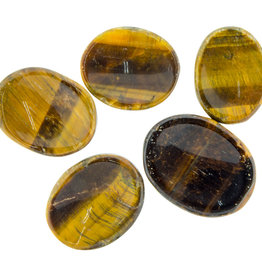 Golden Tigers Eye Worry Stone