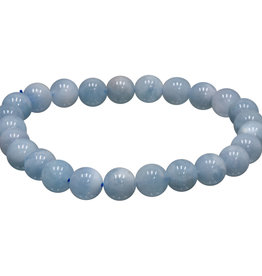 Bracelet - Aquamarine- 5-7mm