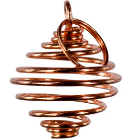 Tumbled Stone Cage - Copper - Small