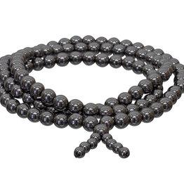 Mala Prayer Bracelet - Hematite