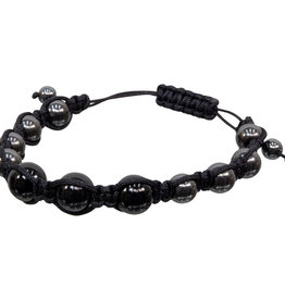 Bracelet - Magnetic Hematite and Black Onyx