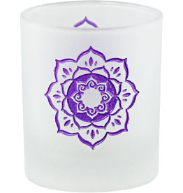 Lotus Glass Votive