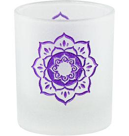 Lotus Glass Votive
