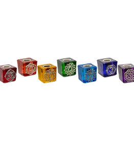 Candle Holder Set - 7 Chakras