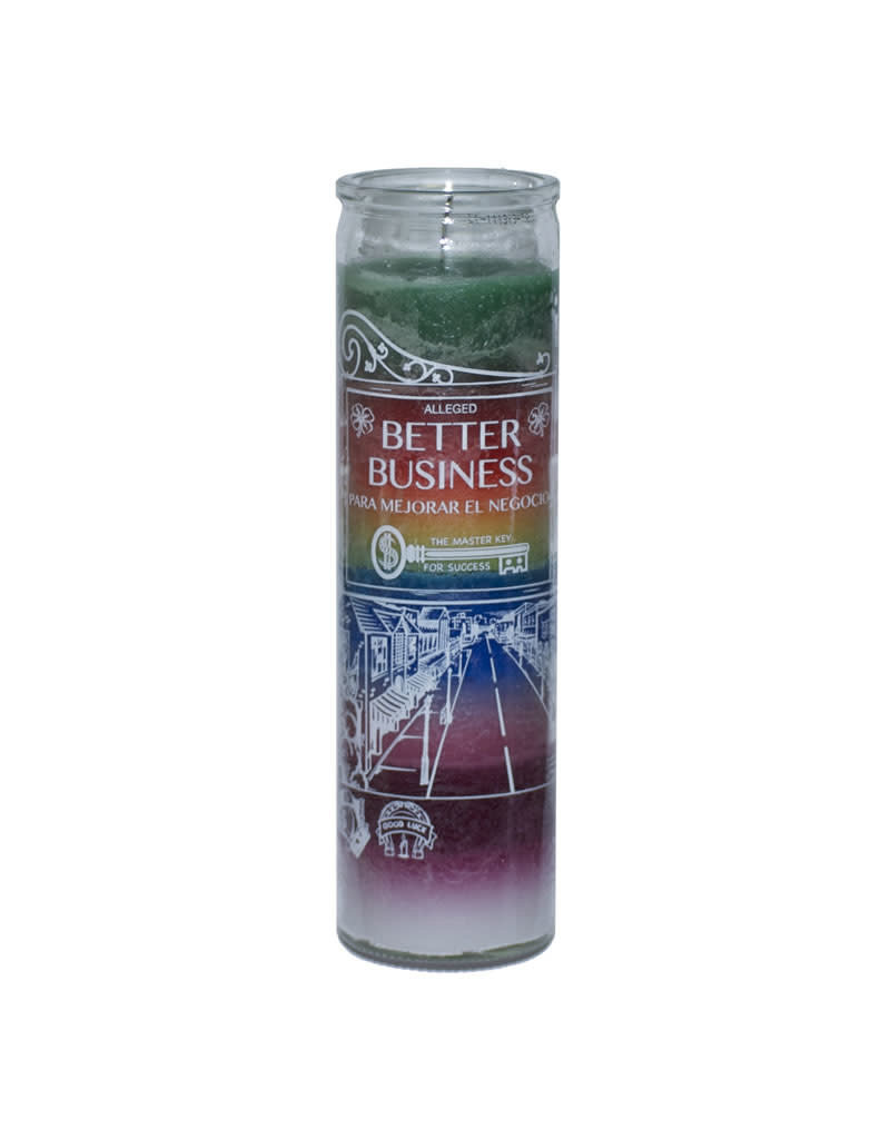 7 Day Candle - Better Business 7 Color - C8S-7BETTER
