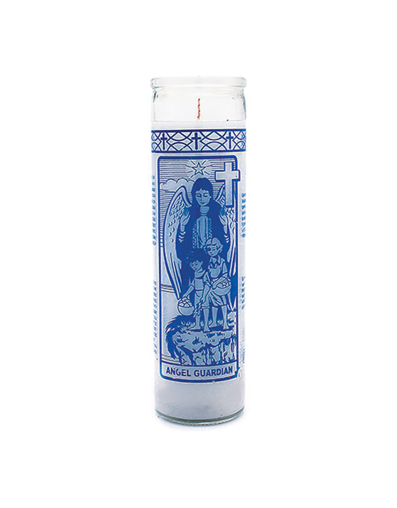 7 Day Candle - Guardian Angel - White - C8S-GUAR