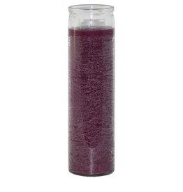7 Day Candle - Plain Purple - C8PPUR