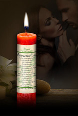 Blessed Herbal Candle - Attraction / Love