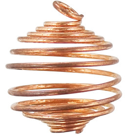 Tumbled Stone Cage - Copper - Large - 98910