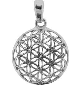 Pendant- Flower of Life Sterling Silver- BL17015