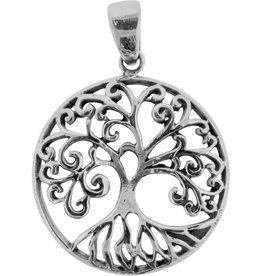 Pendant- Tree of Life Sterling Silver - BL25037