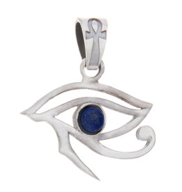 Pendant- Eye of Horus w/Lapis - BL27023