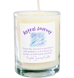 Astral Journey Herbal Magic Glass Votive