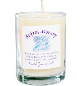 Astral Journey Herbal Magic Glass Votive