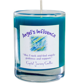 Angel's Influence Herbal Magic Glass Votive