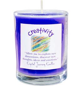 Creativity Herbal Magic Glass Votive