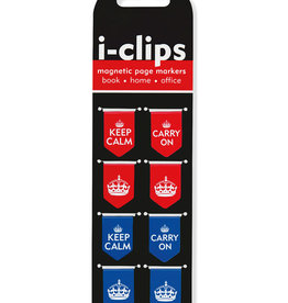 Keep Calm I-Clips Bookmarks
