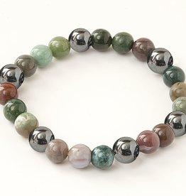 Bracelet - Miracles - Magnetic Hematite and Agates