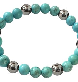 Lucky Hematite Magnetics - Turquoise - Good Luck - 1392