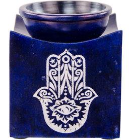 Oil Burner - Soapstone Fatima Hand - 08656 - DNR