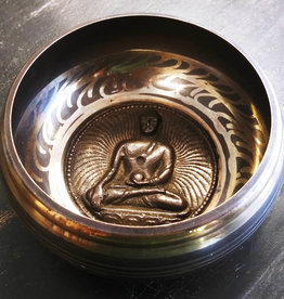 Singing Bowl - Buddha Small - 67534