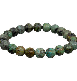 Bracelet - African Turquoise- 8mm - 98618