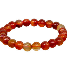 Bracelet - Red Agate - 8mm - 98540