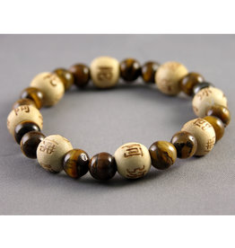 Lucky Karma Tiger's Eye Bracelet - Protection and Balance