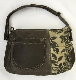 Bag - Floral Shoulder Bag - 38X26X12CM - 55625