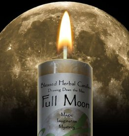 Blessed Herbal Candle - Full Moon - DDM-FU