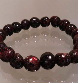 Bracelet - Polished Garnet