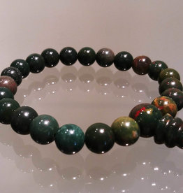 Bracelet - Bloodstone Power Bracelet
