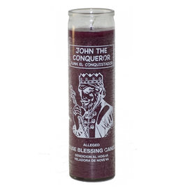 7 Day Candle - John the Conqueror Purple