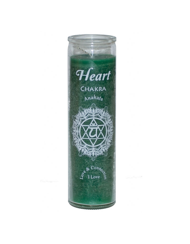 7 Day Candle - Chakra Heart Green