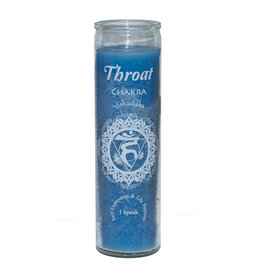 7 Day Candle - Chakra Throat Light Blue