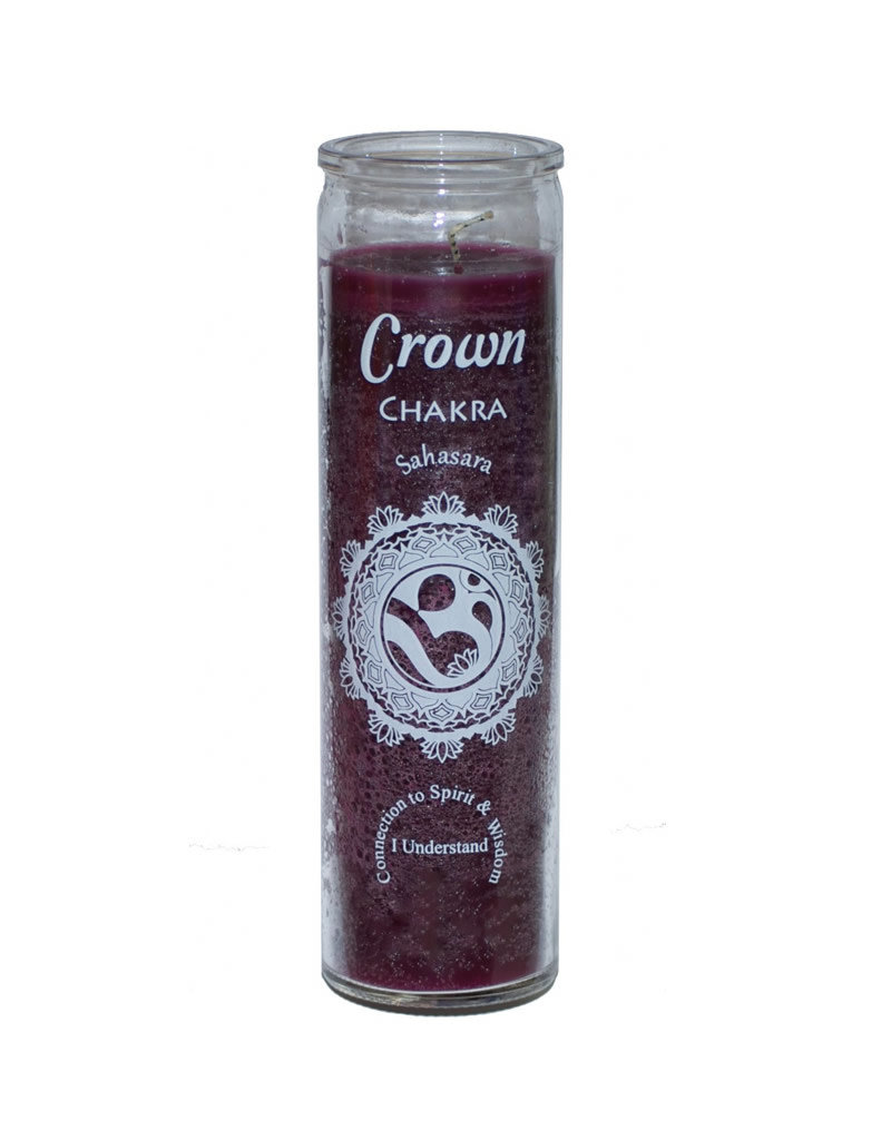7 Day Candle - Chakra Crown Purple - C8S-CHAKCR - SS