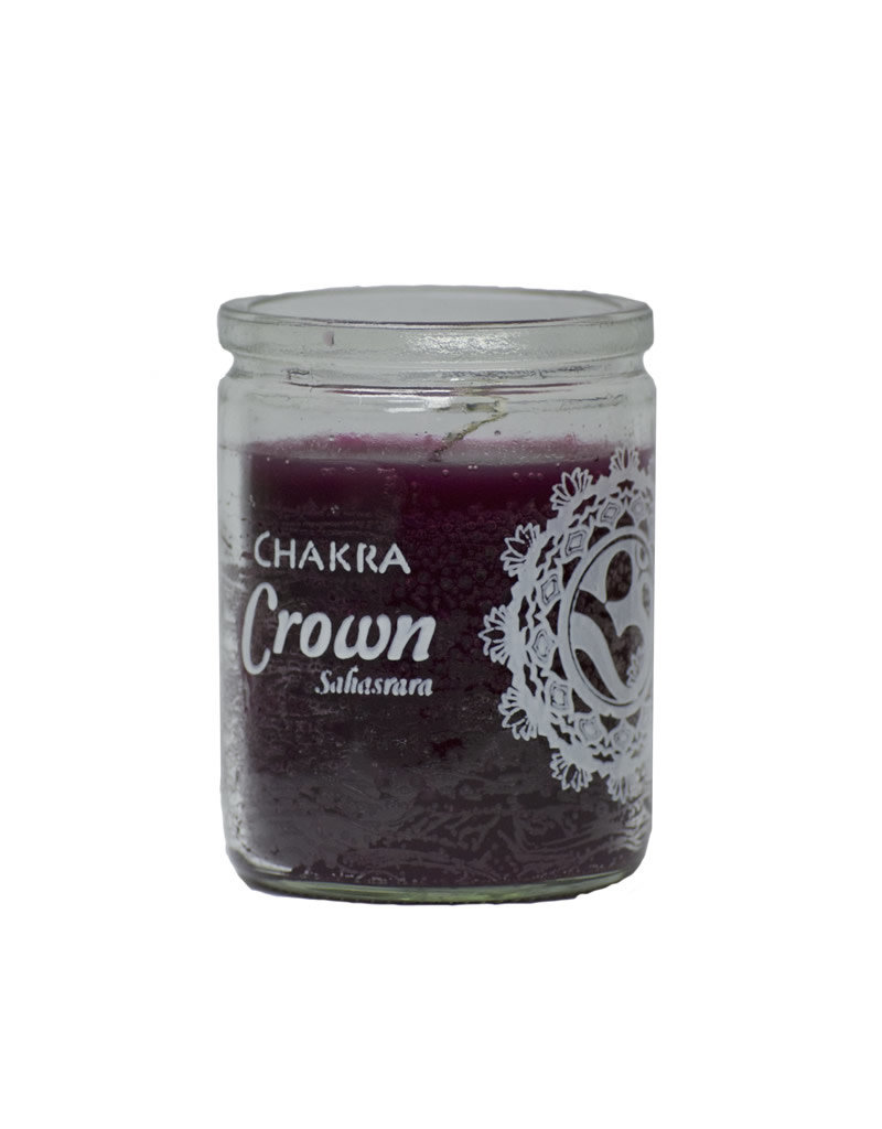 50 Hr Candle - Chakra Crown - C50S-CHAKCR