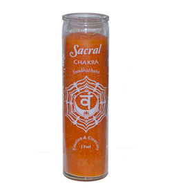7 Day Candle - Chakra Sacral Orange