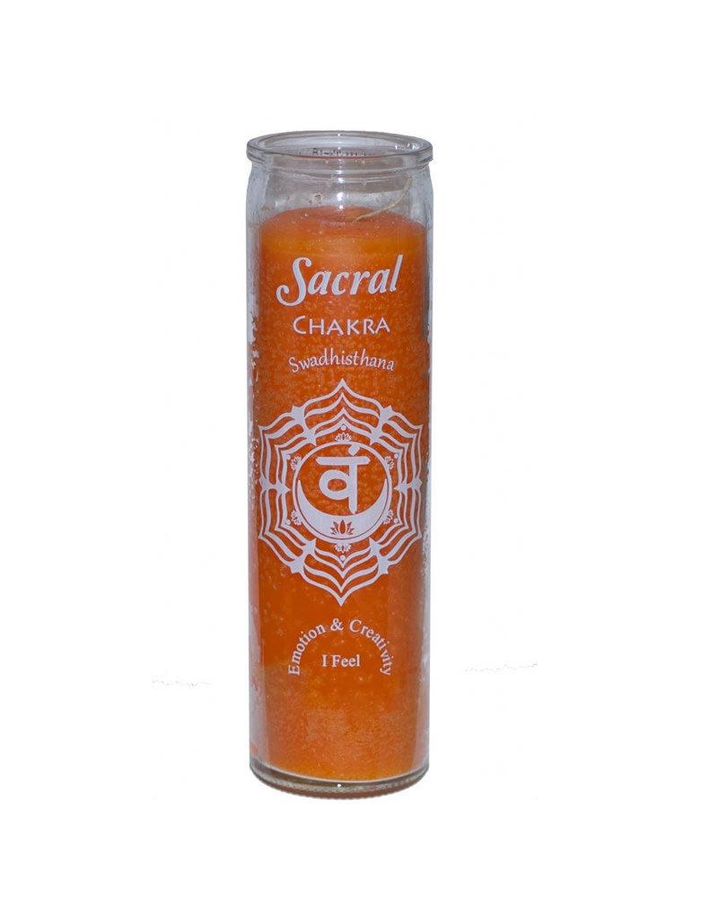 7 Day Candle - Chakra Sacral Orange