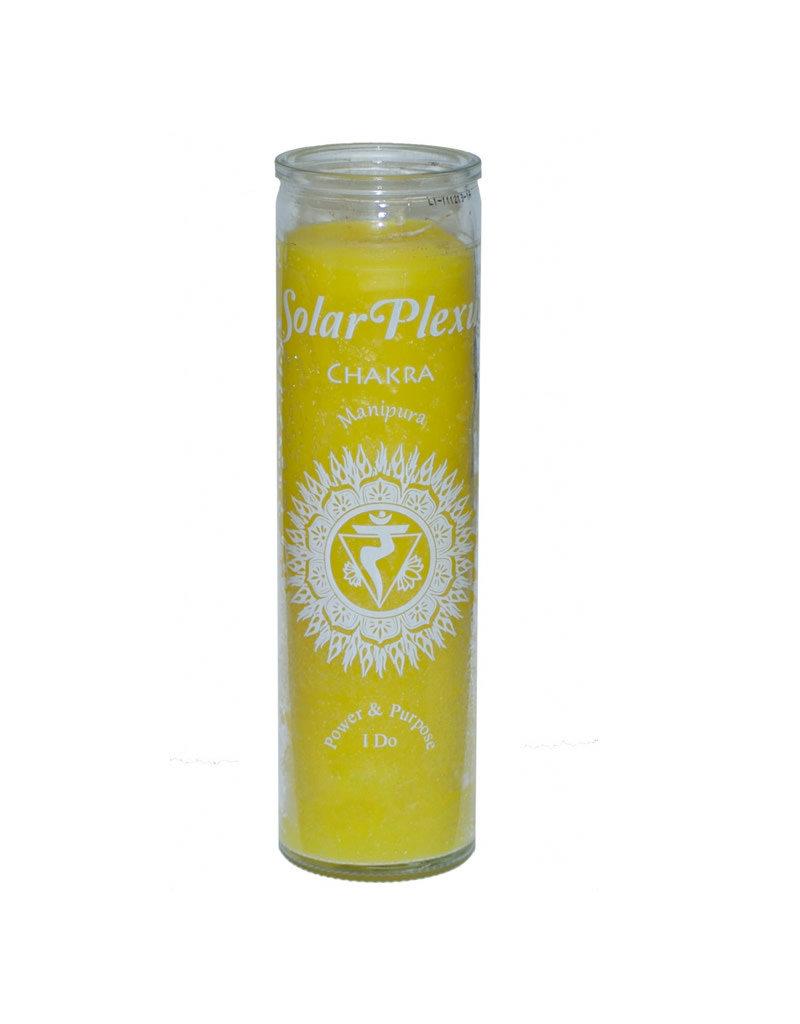 7 Day Candle - Chakra Solar Plexus Yellow