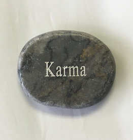 Karma Marble Word Stone - 4508KA