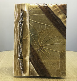 "Indonesian Banana Leaf Journal - 5"" x 7"" - #2907"