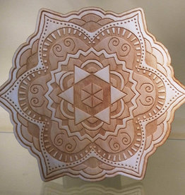 Mandala Crystal Grid #11 - 9 inches