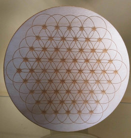 Flower of Life Dotted - Dotted Flower of Life - 9 inches