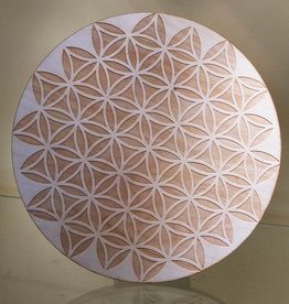 Flower of Life Crystal Grid - Inverted Flower of Life - 9 inches