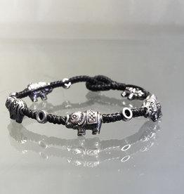 Bracelet Elephants in a Row- B411