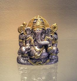 Pewter Feng Shui Figurines Ganesha - 32942