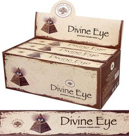Incense - Green Tree 15 gr - Divine Eye - 72668