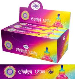 Incense- Green Tree-Chakra Lotus- 72667